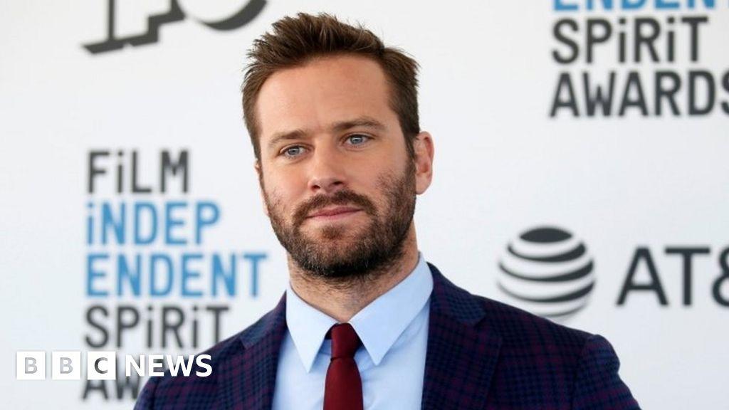 Armie Hammer: US actor accused of rape