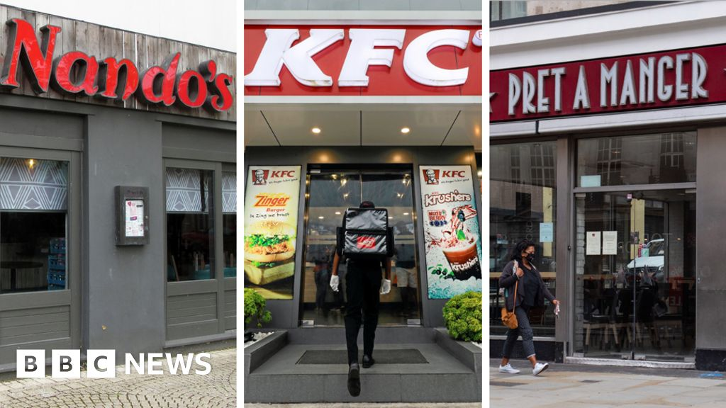 KFC, Nandos and Pret lower prices after VAT cut