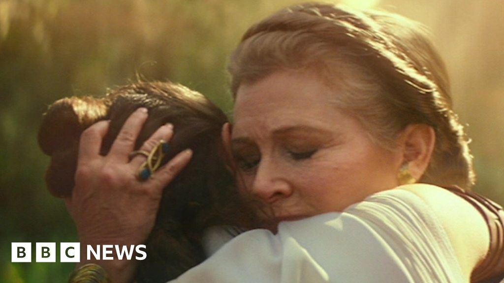 Star Wars: How we brought Carrie Fisher back
