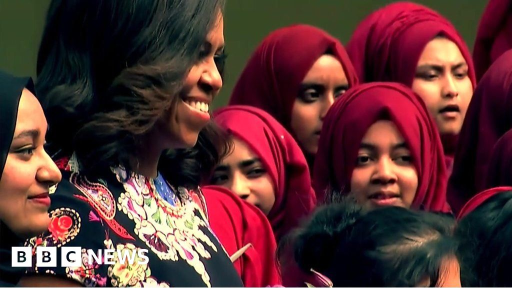 d03756ea76 Michelle Obama and me: How former US first lady changed my life ...