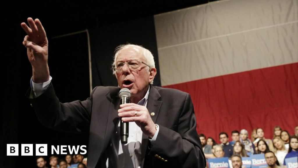 Nevada caucuses: Bernie Sanders leads in early results - bbc