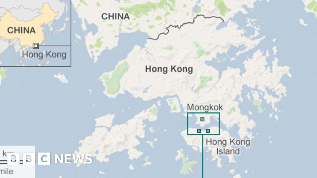 Hong kongs mong kok clashes more than fishballs bbc news gumiabroncs Images