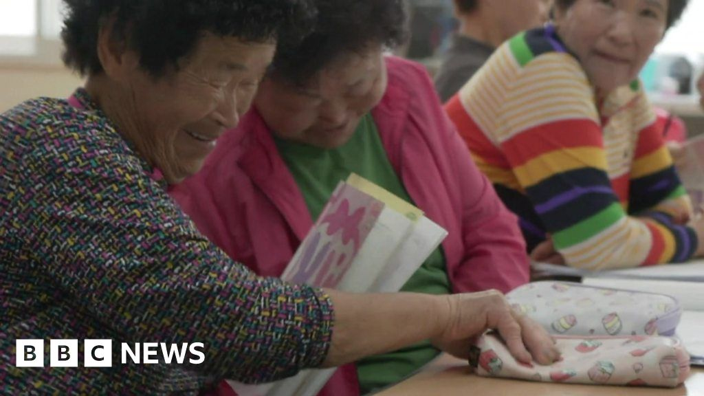 South Korean grannies keeping a school alive