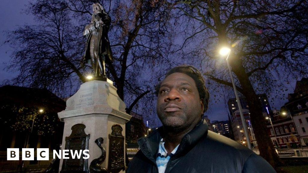 Who is Edward Colston and Bristol is divided by his legacy?