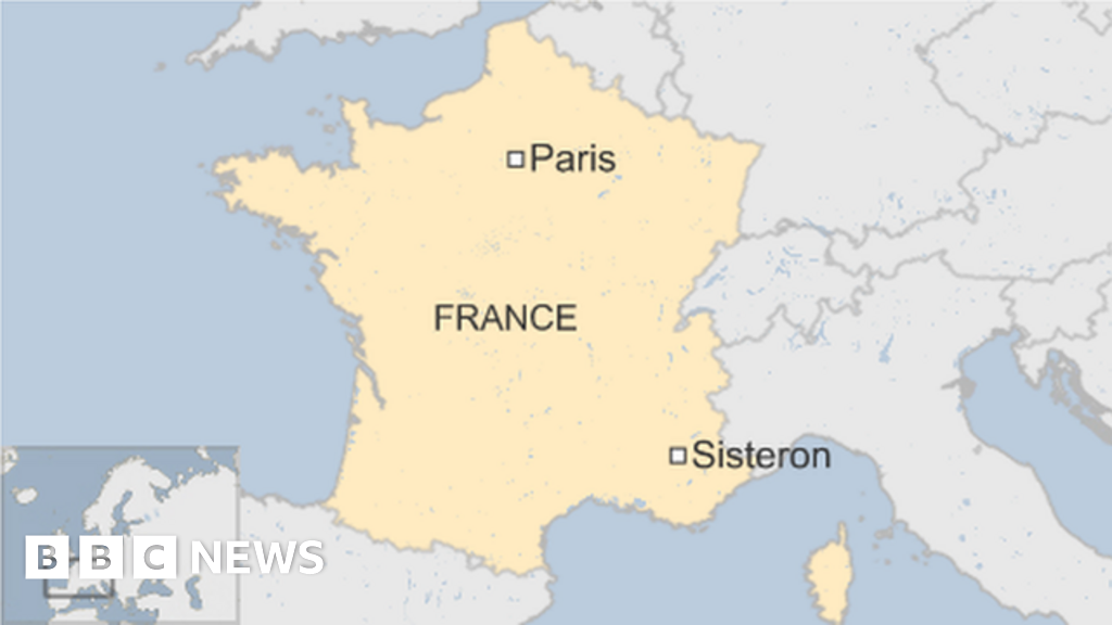 Sisteron France Map.Man Knifes Mother And Three Daughters At French Holiday Park Bbc News