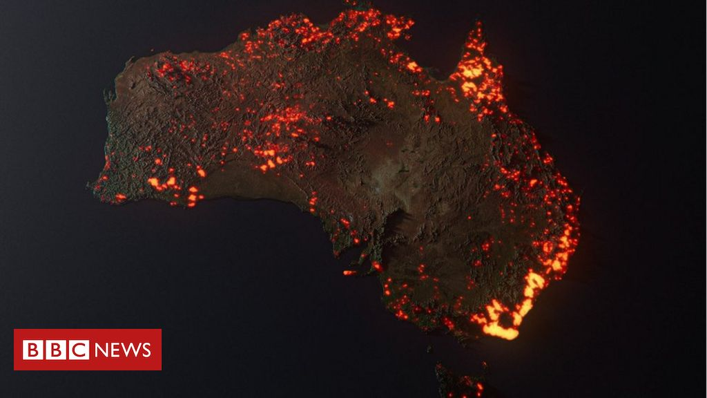 Australia Fires Misleading Maps And Pictures Go Viral Bbc News