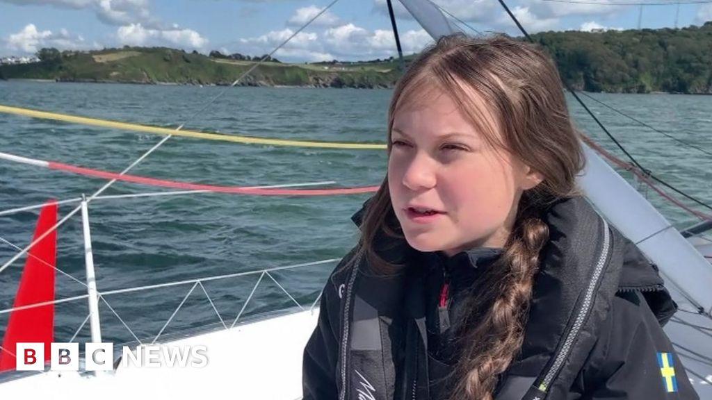 Greta's zero carbon journey across the Atlantic