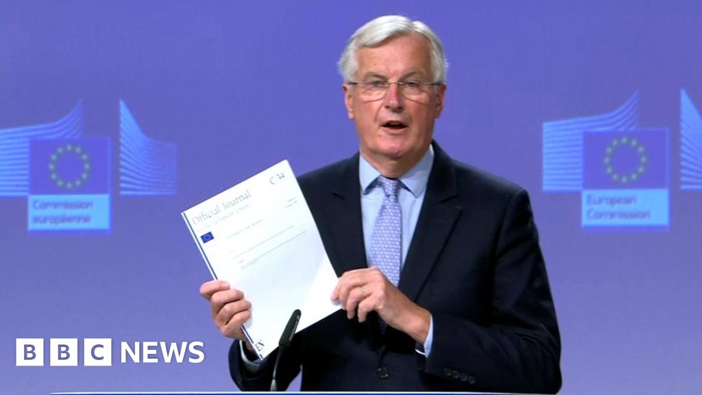 Brexit: UK backtracking on commitments, says Michel Barnier