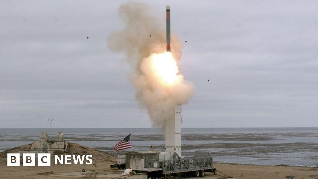 INF nuclear treaty: US tests medium-range cruise missile