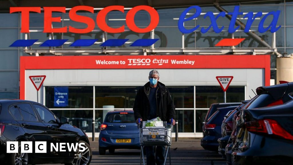 Tesco counts cost of Covid trading as profits drop