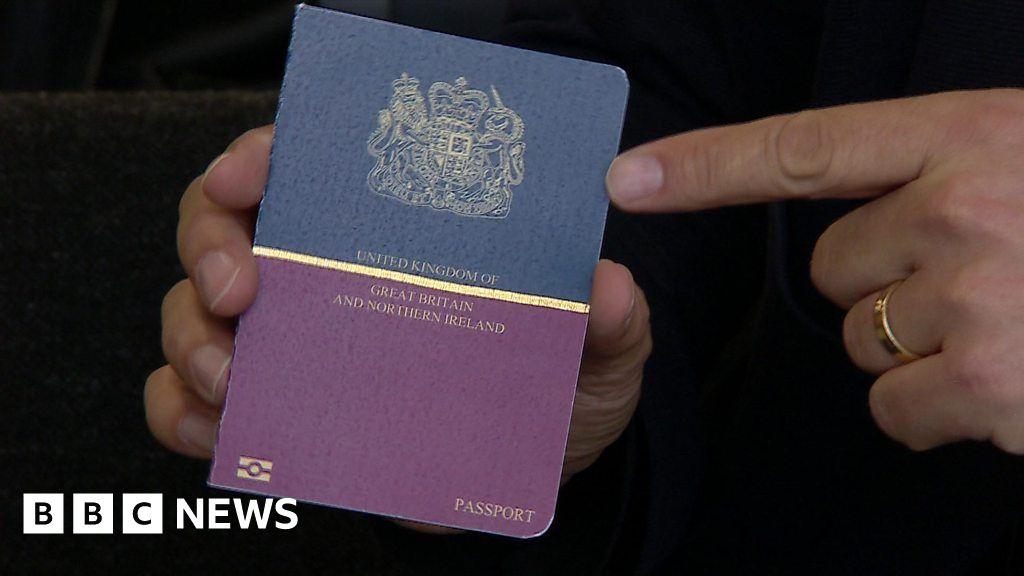 Finding my passport number online uk