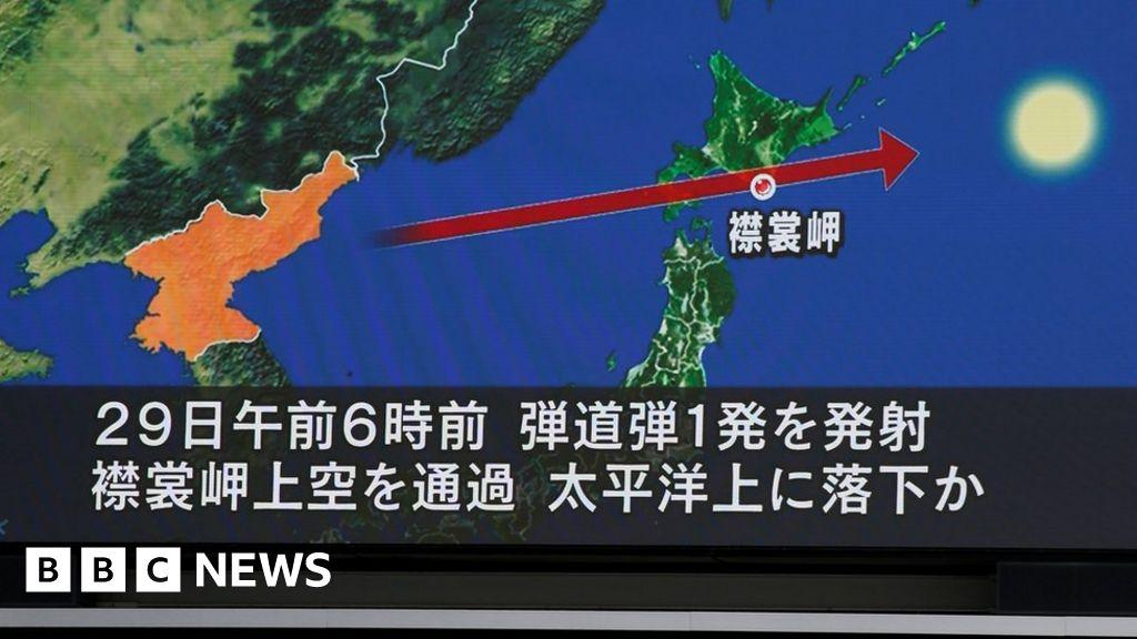 News Daily: North Korean missile and NHS pay demand - BBC News