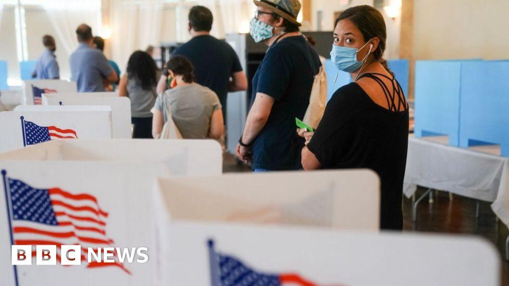 Geórgia: Caos envolve votação no campo de batalha da Casa Branca 1