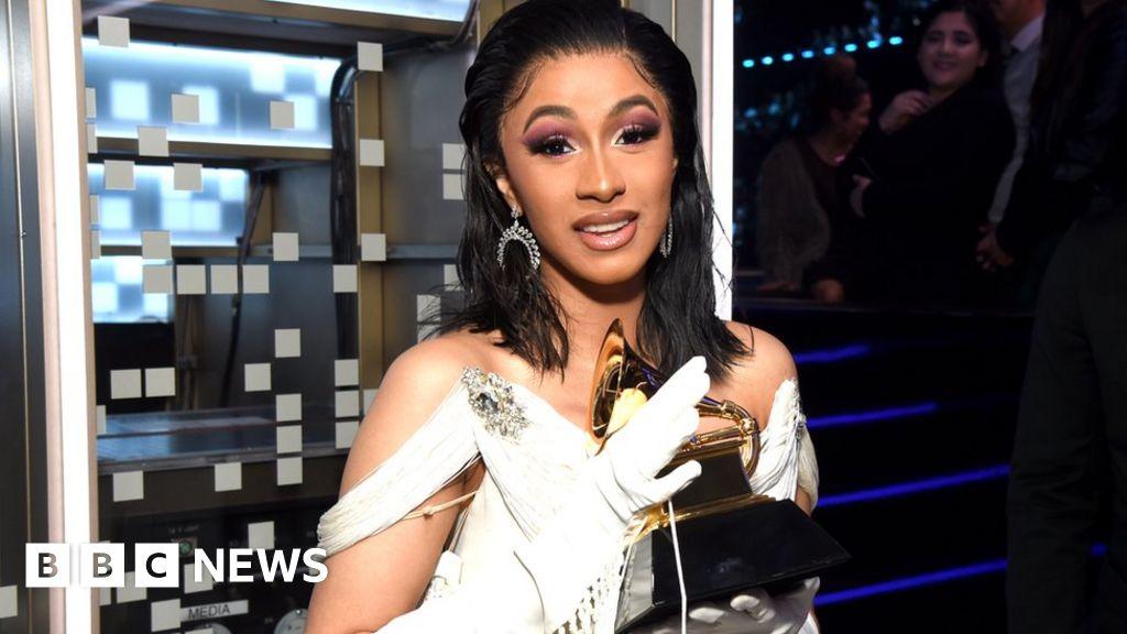 Cardi B From Stripper To Grammy Award Winner Bbc News