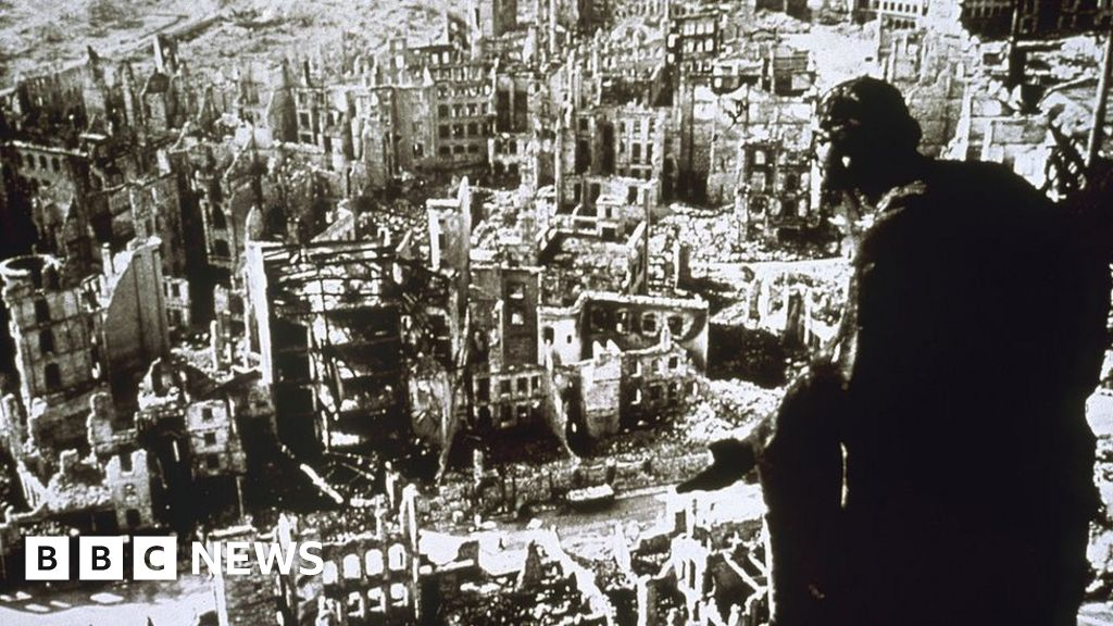 Why a historic German city was destroyed in 1945