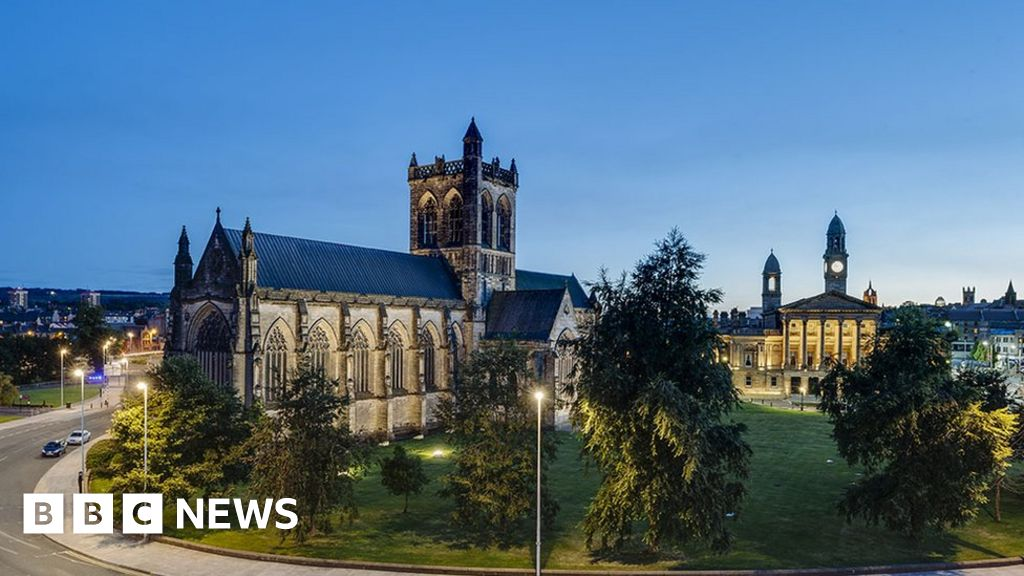 paisley shortlisted to become uk city of culture in 2021
