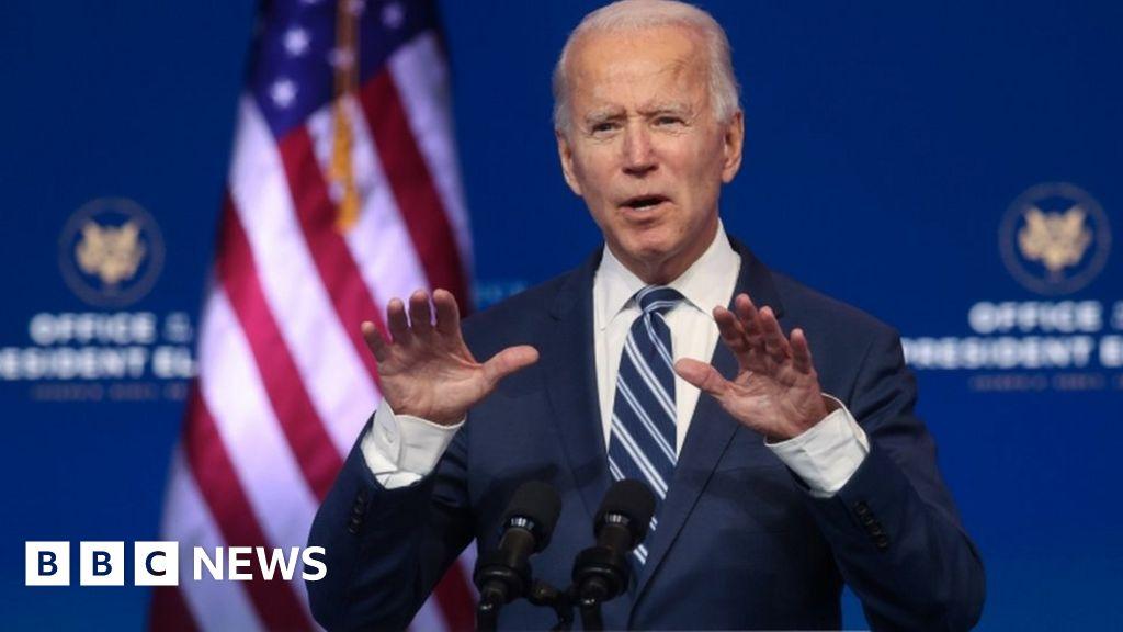 Biden: Trump refusal to concede 'an embarrassment'