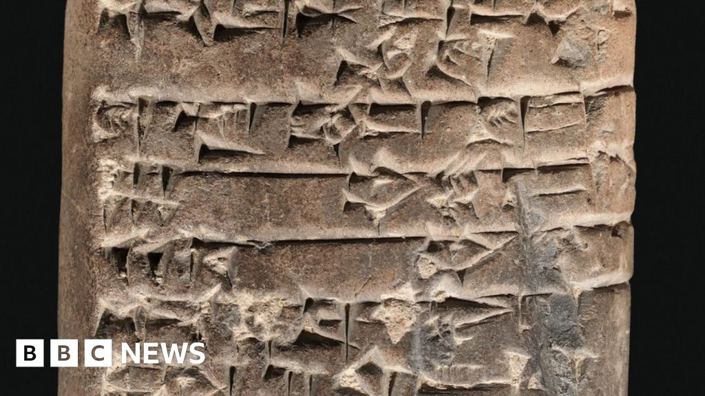 How The Worlds First Accountants Counted On Cuneiform Bbc News