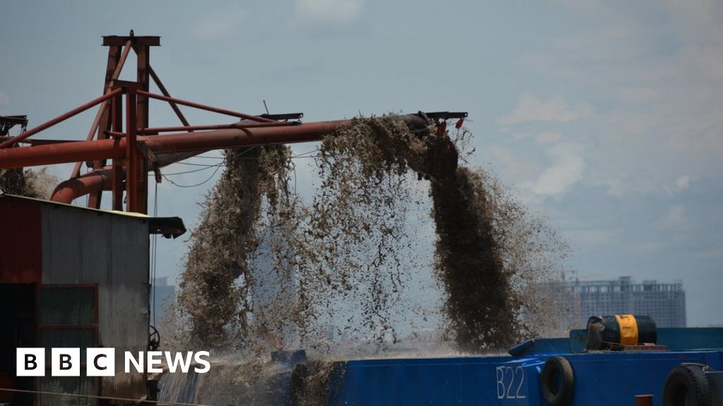How the scramble for sand is destroying the Mekong