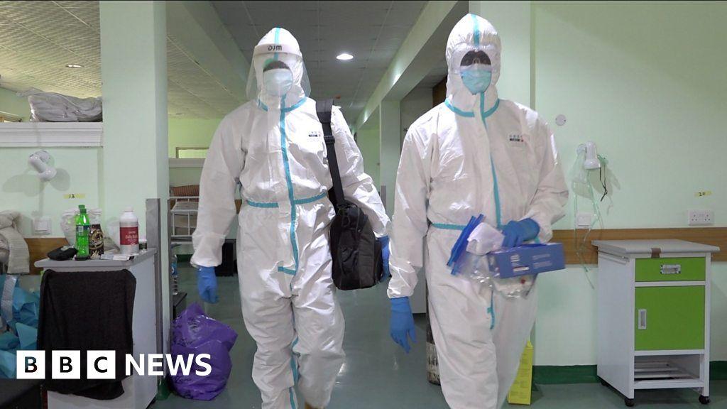 Coronavirus in Nigeria: Inside a Lagos coronavirus ward