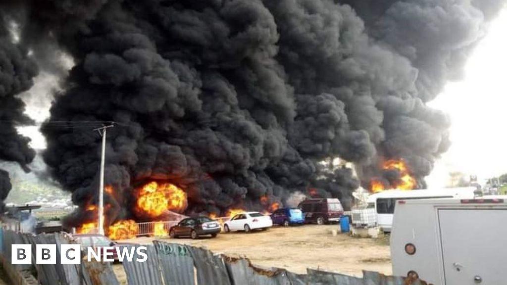 Nigerian fuel tanker explosion kills 25 in Lokoja