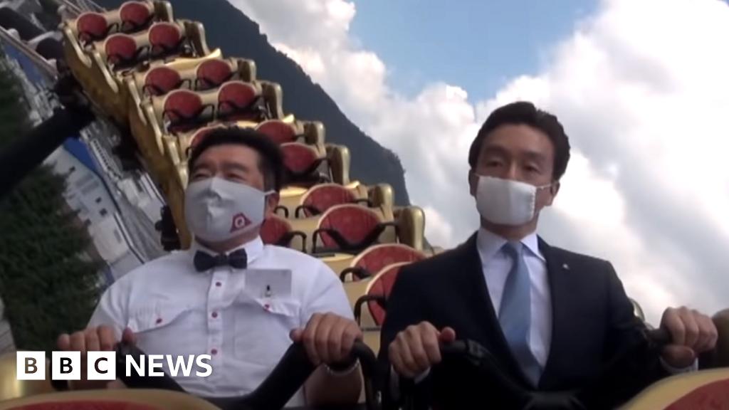 'Não grite e fale sério': parque temático do Japão diz aos pilotos de montanha-russa 1