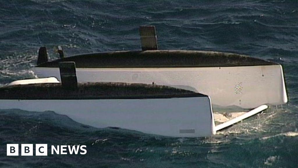 Three dead after catamaran overturns off Australia