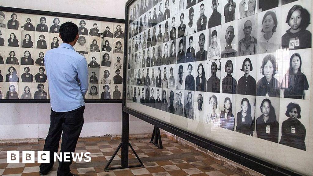 Cambodia criticizes edited photos of Khmer Rouge victims