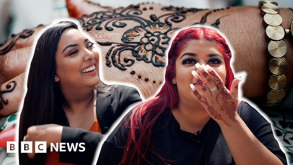Coronavirus: How henna can help your mental health – BBC News