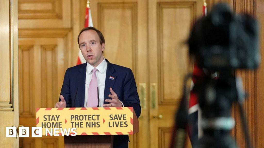 Coronavirus: Testing will help UK 'unlock the lockdown' – Hancock