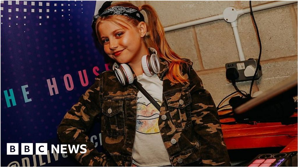 'I'm an 11-year-old house music DJ'