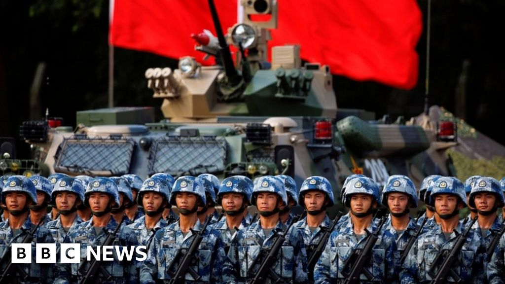 The 'globalisation' of China's military power - BBC News