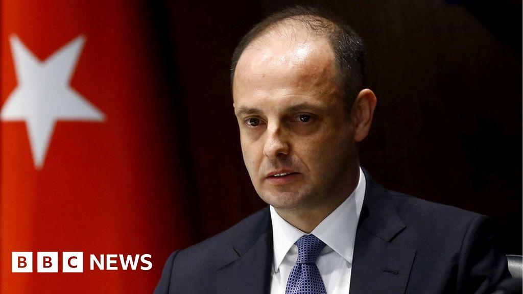 Turkey's Erdogan fires central bank chief Murat Cetinkaya