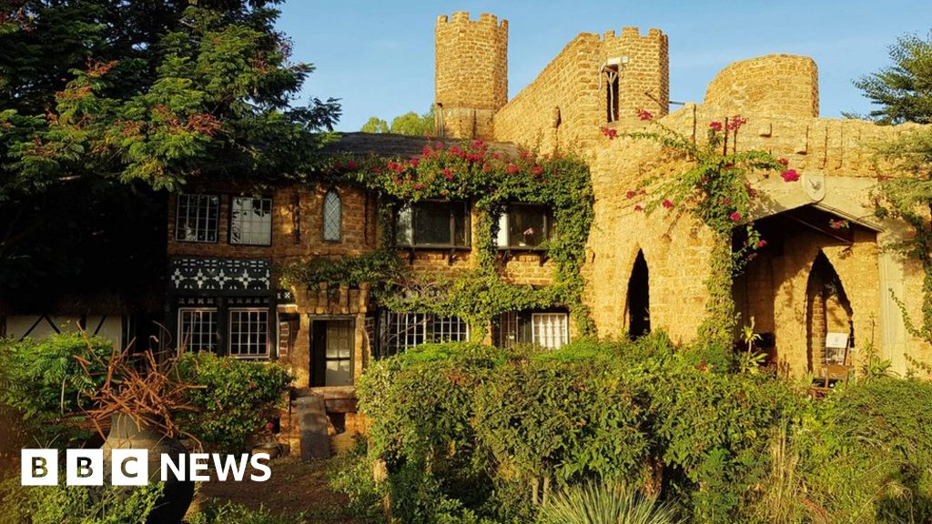 Why a Frenchman built a  Tudor  castle in Burkina Faso