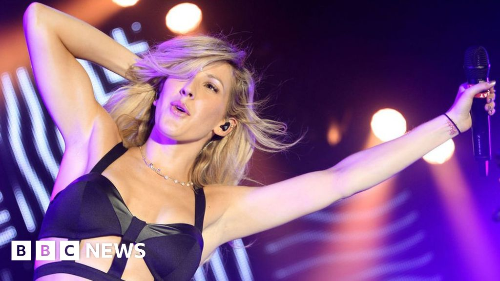 "Ellie Goulding: ""I would just to be a robot"""