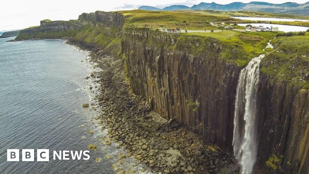 Visitors asked to limit drone flights at Kilt Rock