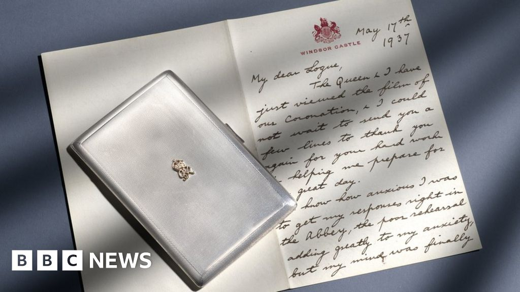 George VI King's Speech therapist letter to be auctioned thumbnail