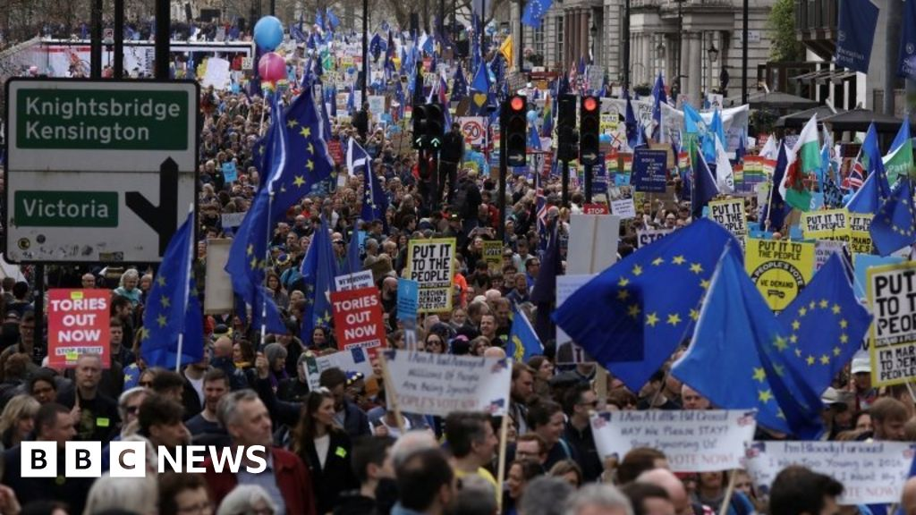 Brexit: People s Vote staff vote  no confidence  chairman