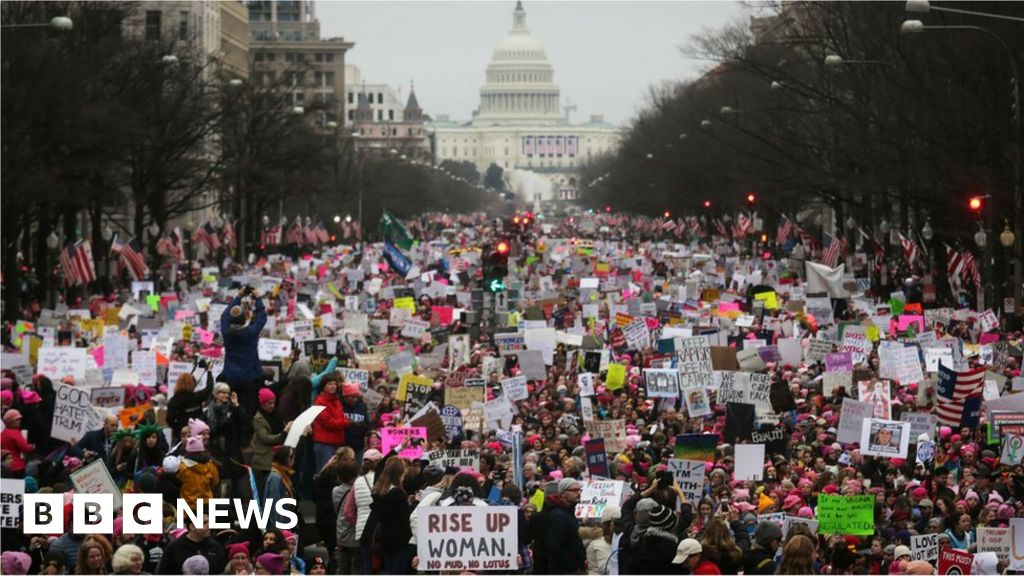 National Archives, sorry for the censorship 2017 women March sign