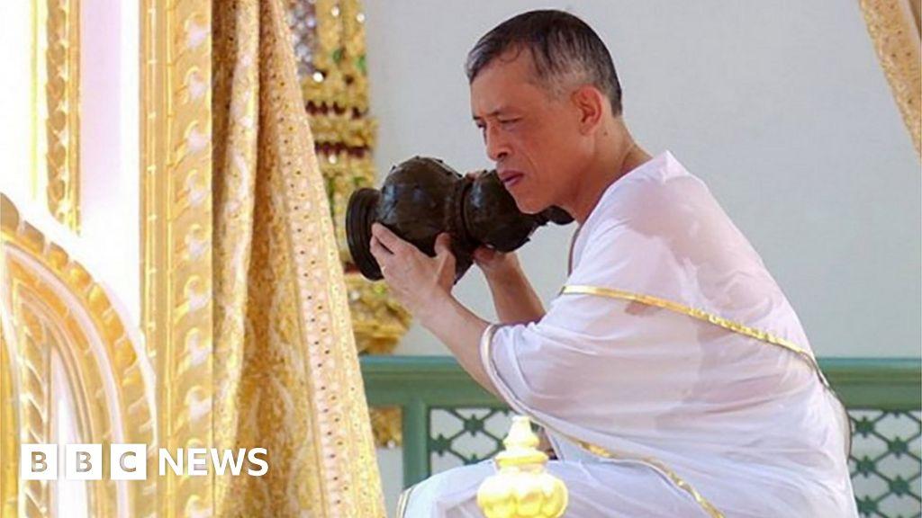 In pictures: Thai coronation ceremony