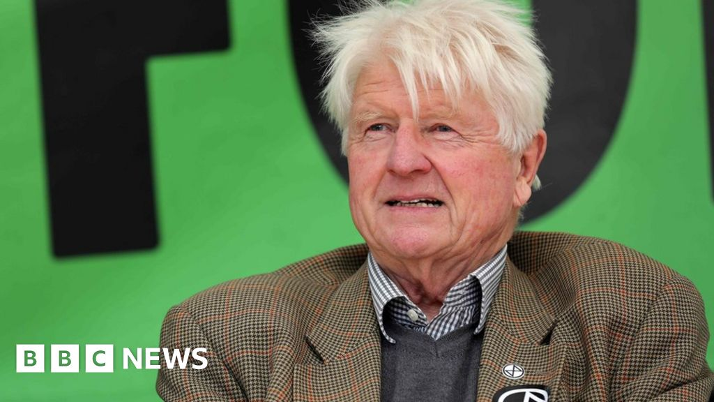 Stanley Johnson praises Extinction Rebellion 'crusties'
