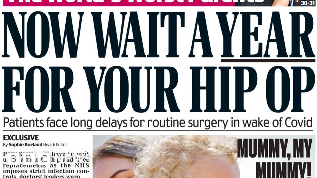 Newspaper headlines: Coronavirus 'knife edge' as Sedwill stands down thumbnail