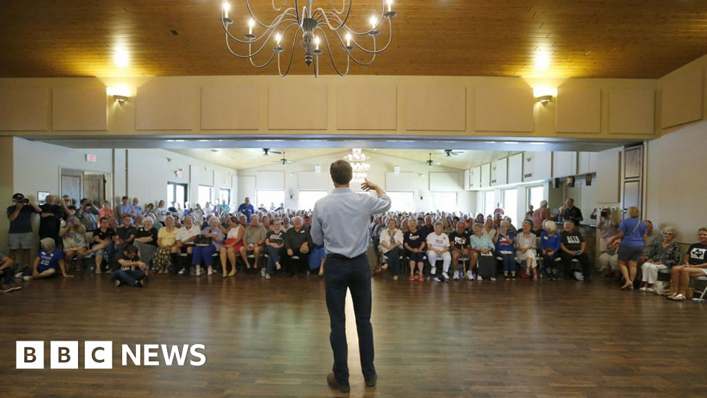 Beto O'Rourke: Democrats dazzled by rising star in Texas