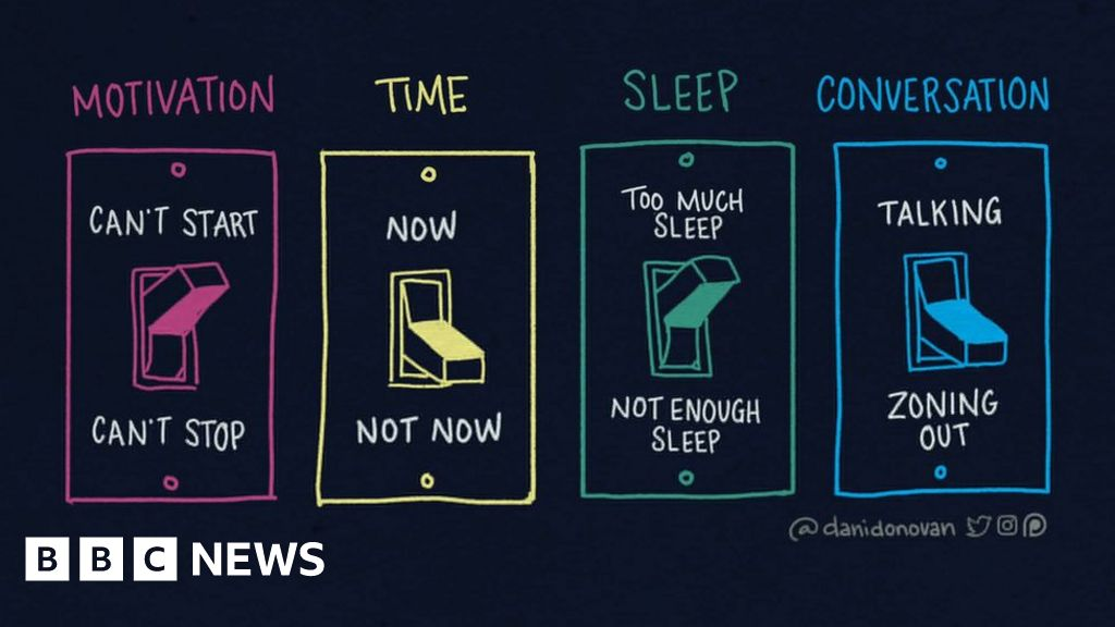 Sleep And Adhd Whats Connection >> Adhd The Web Comics That Show What My Life Is Like Bbc News