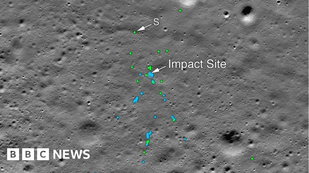 India's Chandrayaan-2 probe found on Moon