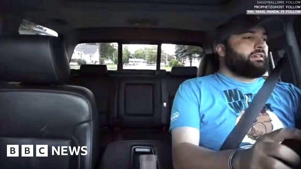 Uber driver streamed hidden camera videos on Twitch