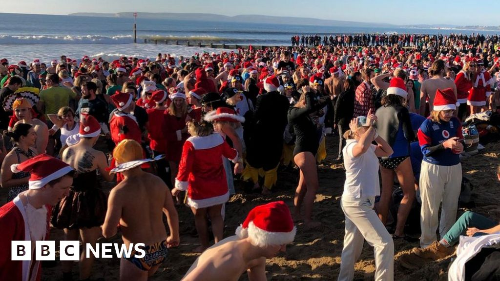 Christmas Day with a difference across England