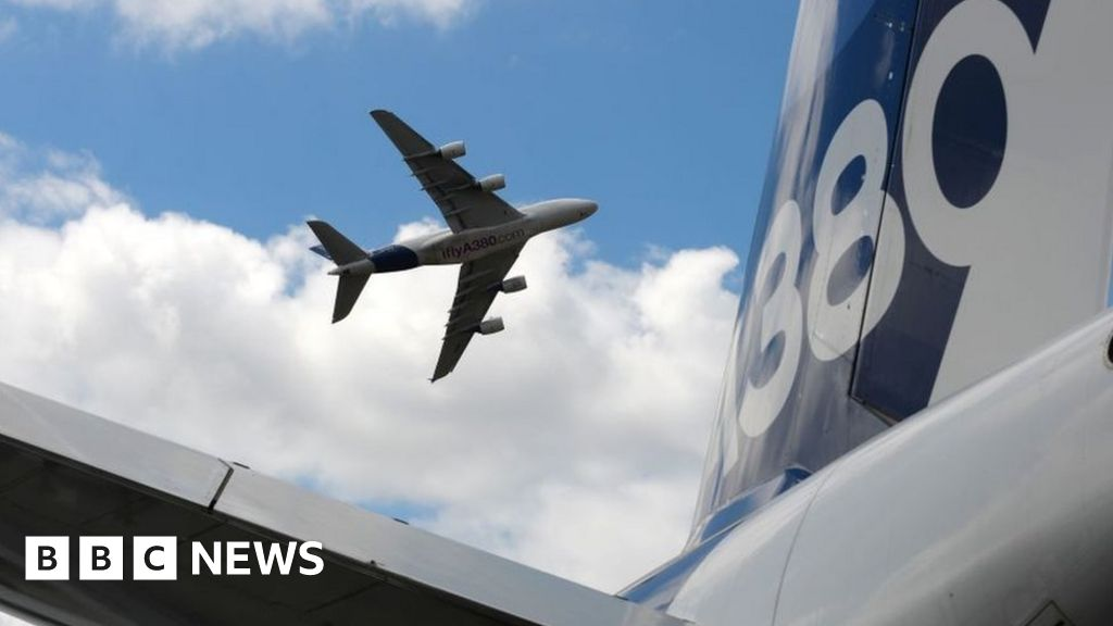 Farnborough Airshow: A380's 'best years still to come'