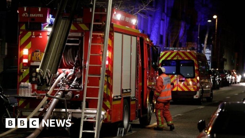 Seven dead in Paris building fire