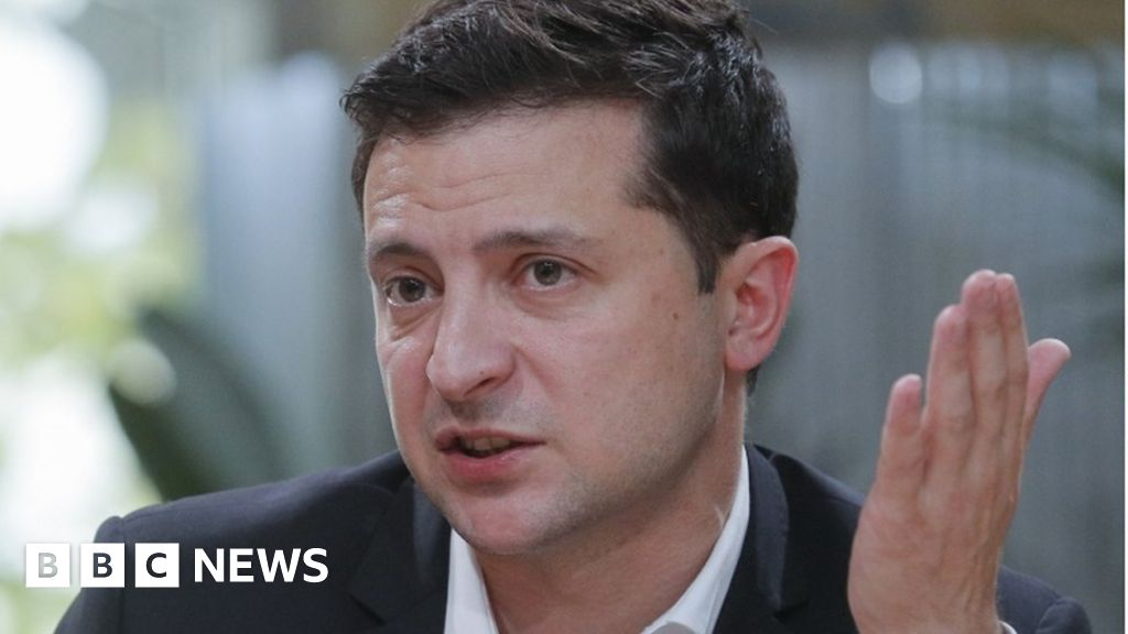 Ukraine leader says 'no blackmail' in Trump call